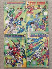ULTIMATE SPORTS FORCE NBA SUPERSTARS 4 COMIC BOOK COLLECTION 2004 JAMES