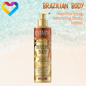 Eveline Cosmetics BRAZILIAN BODY Golden Bronzing Body Balm Moisturising 200ml