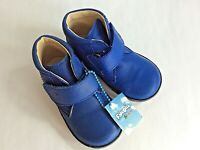 Falcotto 246 Baby first walker US 5 EURO 20 azzurro blue leather
