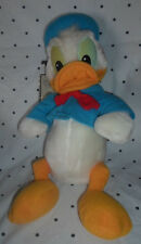 "Disneyland Disney Donald Duck Vintage 15"" Plush Soft Toy Stuffed Animal"