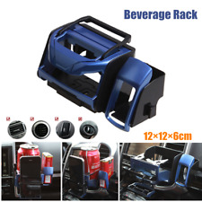 Clip Mounted Multifunctional Beverage Rack Drink Holder For Outlet Air Vent ABS