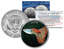 GUPPY *Fish Series* JFK Kennedy Half Dollar U.S. Coin