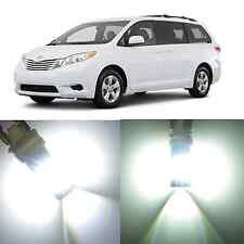 Alla Lighting Brake Tail Lights White LED Bulbs for Toyota Sequoia 06~10 Sienna