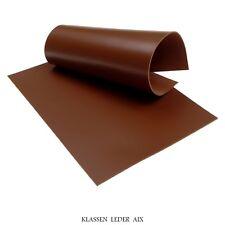 Rindsleder Cognac 2,6 mm Dick Velour Braun Echt Leder LARP Leather 59