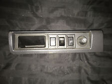 90 91 GEO STORM GSI 2DR SWITCH PANEL TRIM with RARE FOG LIGHT and CUBBY