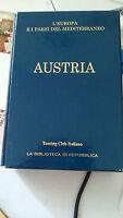 LIBRO AUSTRIA L'EUROPA E I PAESI DEL MEDITERRANEO TOURING CLUB ITALIANO 2005