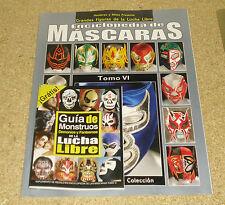 Enciclopedia De Mascaras Tomo VI Lucha Libre Wrestling Mask Encyclopedia