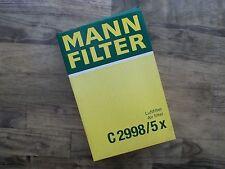 MANN Filter Luftfilter Air filter C 2998/5x