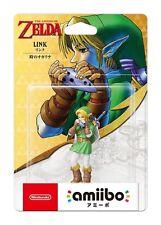 Nintendo Amiibo Link The Legend of Zelda Ocarina of Time Figure Commutateur Wii U 3 DS