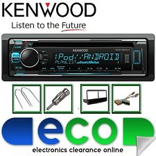 Ford Escort 1996-2000 KENWOOD CD MP3 USB AUX Cruscotto Pannello & Pocket KIT STEREO AUTO