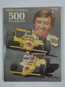 1980 Indianapolis 500 Yearbook Carl Hungness Johnny Rutherford Pontiac Firebird