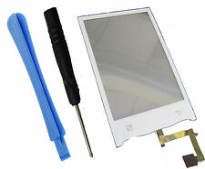 For LG GT540 Optimus Top Touch screen Pad Front panel Digitizer White + Tools UK
