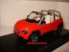 NEW NOREV CITROEN E - MEHARI ORANGE 2016 au 1/43°