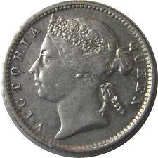 elf Straits Settlements 10 Cents 1899  Victoria