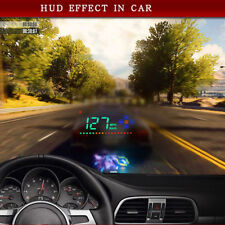 Universal GPS HUD Digital Head Up Display Car Truck Speedometer SpeedNavigation