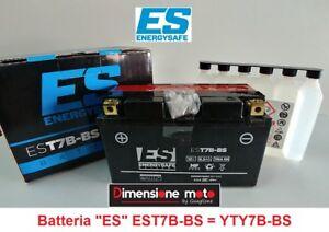 """Batteria ENERGYSAFE ES-T7B-BS 12V-6,5Ah """"MF"""" per YAMAHA Majesty 250 dal 2000 >"""