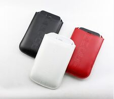 IPHONE 3G G3 G 3RD GENERATION Doro 632 Alcatel Nokia n 95 case cover  PU Leather