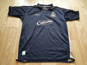 Mens Umbro Celtic Away football shirt 2003 - 2004 Size M