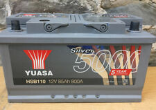 Yuasa Silver High Performance Car Battery 12V 85Ah HSB110 Cosmetic Bargain