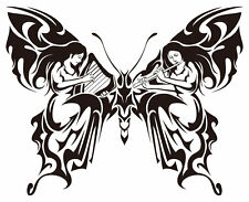 vinyl butterfly 7x6 in decal for your car,home 12 colors available
