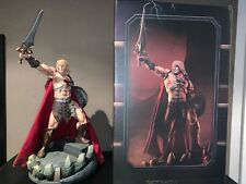 Masters of the universe he-man statue sideshow Motu he-man
