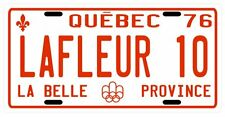 Guy Lafleur Montreal Canadiens Hockey 1976 License Plate