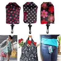 Woman New Folding Reusable Storage Bags High-capacity Waterproof Shopping Bag BJ