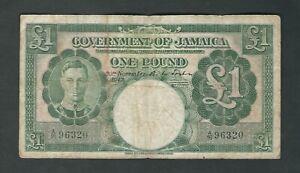 Jamaica - One (1) Pound 1942