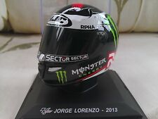 #99 Jorge Lorenzo Motogp 2013 Casco Modellino 1/5 Scala Altaya