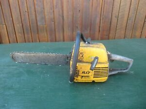 """Vintage PARTNER R17 Chainsaw Chain Saw with 15"""" Bar"""