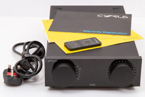 Cyrus One integrated amplifier, Bluetooth, with remote and manual