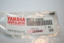Yamaha nos atv snowmobile reed valve screw 98517-03008 blaster vmax 700
