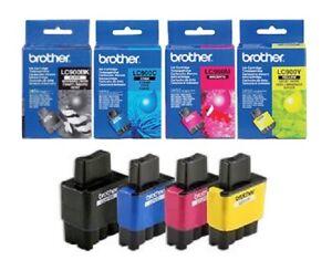 4x Original Tinte Brother LC-900 SET MFC 210C 215C 410CN 420CN 3240C 3340CN 5440