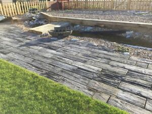 6.5sq/m Timberstone random sizes Weathered Grey inc del ( some exceptions)
