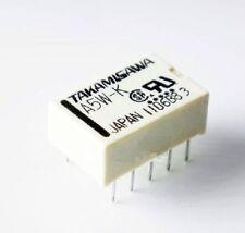 10PCS NEW  Relais Takamisawa A5W-K DIP-10 Relay 2x UM 5V Audio Signal