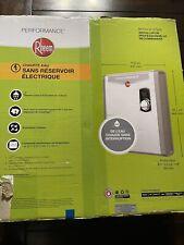 NEW Rheem retex-27  kw Self-Modulating 5.3 GPM Electric Tankless Water Heater