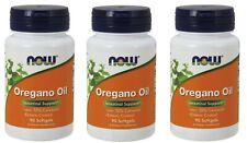 NOW Foods - Oregano Oil Enteric, 90 Softgels - 3 Packs