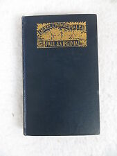 Bernardin De Saint-Pierre  PAUL AND VIRGINIA  Laurel Crowned Tales  A.C. McClurg