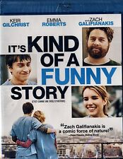 NEW BLU-RAY//COMEDY// IT'S KIND OF A FUNNY STORY //Keir Gilchrist, Zach Galifian