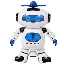 Electronic Walking Dancing Smart Space Robot Astronaut Kids Music Light Toy Gift