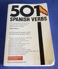 501 SPANISH VERBS by Theodore Kendris and Christopher Kendris 2003 Paperback