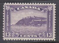 """Canada MINT NH Scott #201 13 cent Quebec Citadel """"KGV Medallion""""   F **"""