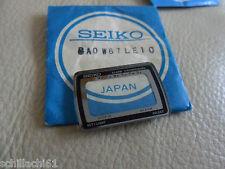 SEIKO A439-4010 Crystal, Silver Surround,Genuine Seiko Nos