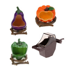 Bird Feeder Cup Small Parrot Cage Food Bowl Water Drink Cup Fruit Shape
