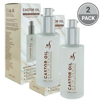 Herstyler Castor Oil Hair Growth Serum with Vitamin E And Argan Oil Pack of 2