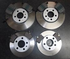 SKODA OCTAVIA 1U JURATEK QUALITY FRONT REAR BRAKE DISCS & PADS PLEASE CHECK SIZE
