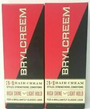 Brylcreem 3 in 1 Hair Cream for Men, 4.5 fl oz (2 Pack) - no expiration date