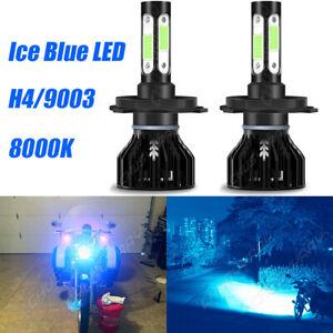 H4 9003 Hi/Lo LED Headlight Bulb Motorcycle for Kawasaki ZX-11 ZX-12R ZX-6 ZX-7R