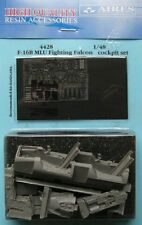Aires 1/48 F-16B MLU Fighting Falcon Cockpit Set for Hasegawa kit # 4428