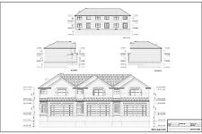 Full Set of Condominium / Triplex building plans 1,379 sq ft